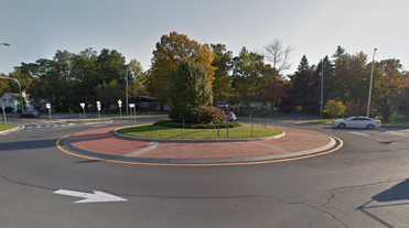 Voorheesville NY roundabout